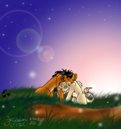 Teen Scar and Zira