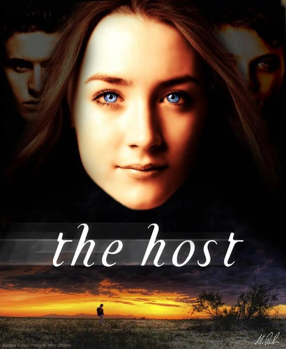 The Host wallpaper probably with a sign and a portrait entitled The Host