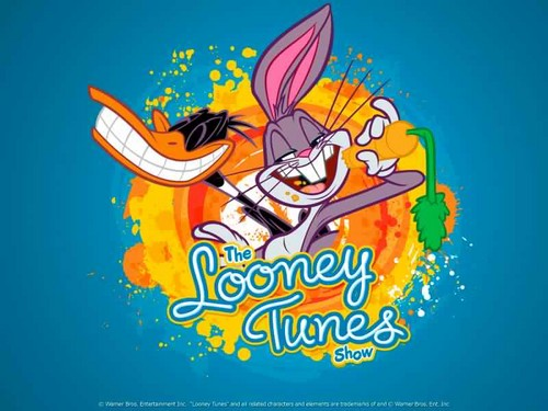 The Looney Tunes Zeigen Hintergrund possibly with Anime entitled The Looney Tunes Zeigen