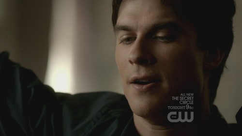 Damon Salvatore پیپر وال containing a portrait entitled The Vampire Diaries 3x18 The Murder of One HD Screencaps