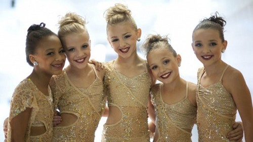 The girls of dance moms