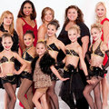 The girls with their moms - dance-moms-pittsburgh photo