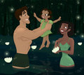 Tiana and Naveen Family