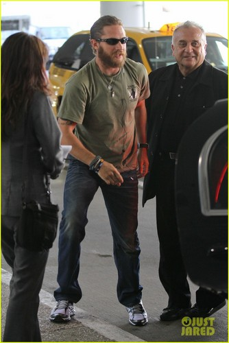 Tom Hardy: Frequent Flyer