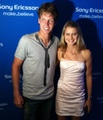 Tomas Berdych and Lucie Safarova in 2011..