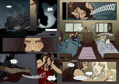 Vampire Academy Graphic Novel