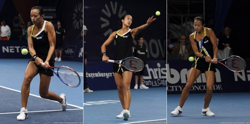Anne Keothavong in Playing With Good Form
