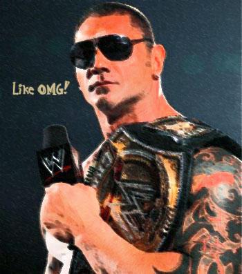 WWE CHAMPION - BATISTA