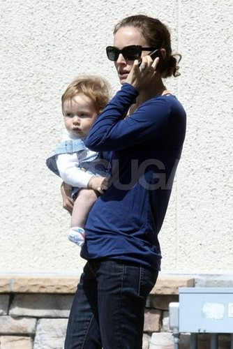 Walking, talking and carrying Aleph in LA (March 28th 2012)