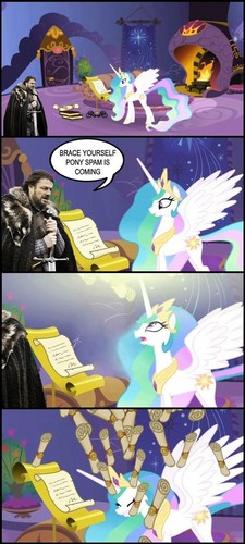 Watch out Celestia! - my-little-pony-friendship-is-magic Screencap