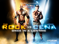 Wrestlemania 28:The Rock vs John Cena - wwe wallpaper