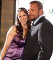 Wrestlemania Premier Party Red Carpet - triple-h-and-stephanie-mcmahon photo