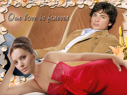 clois and more clois! - smallville Wallpaper