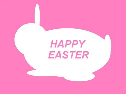 Happy Easter All My 팬 바탕화면 called easterbunny
