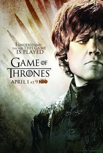 Season 2 Poster- Tyrion Lannister