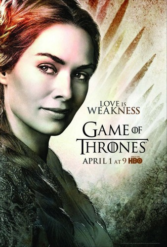 Season 2 Poster- Cersei Lannister