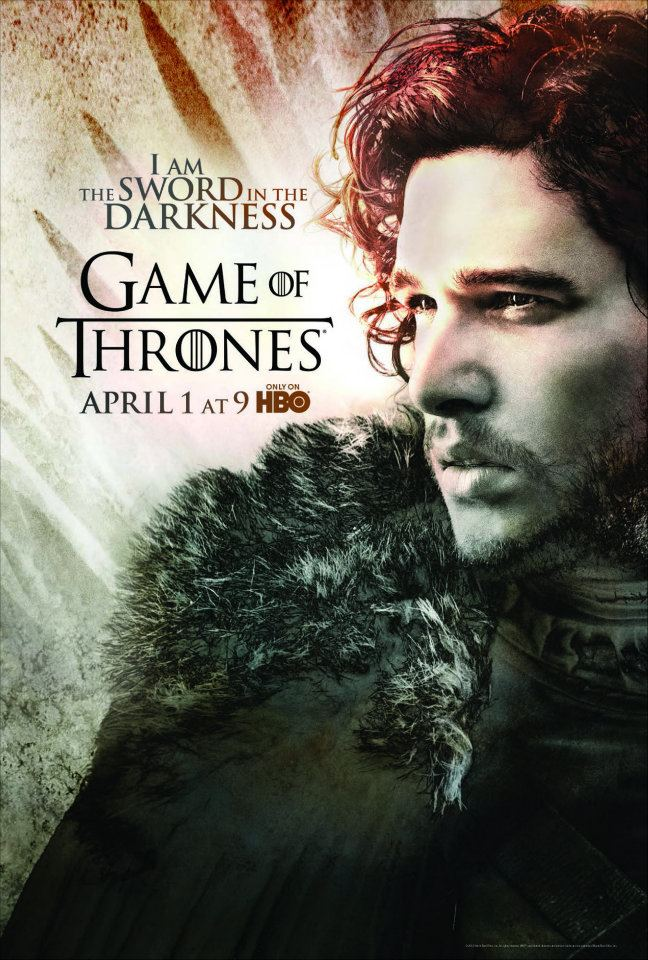 Season 2 Poster- Jon Snow