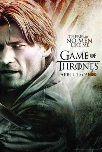 Season 2 Poster- Jaime Lannister