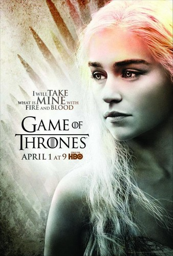 Season 2 Poster- Daenerys Targaryen