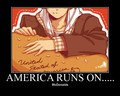 he loves his hamburgers - hetalia-usa-family-rp photo