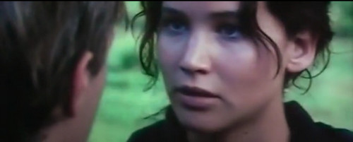 Peeta Mellark and Katniss Everdeen wallpaper with a portrait entitled k and p