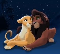 The Lion King 2:Simba's Pride wallpaper titled kovu and kiara