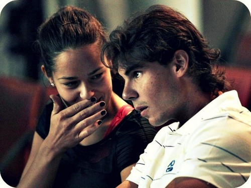 pretty Ana and sexy Rafa