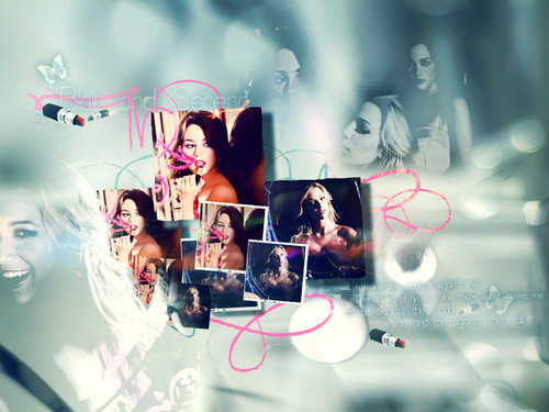 Gossip Girl wallpaper probably with a sign and a bouquet titled random