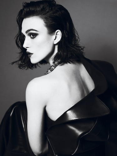 Keira Knightley wallpaper possibly containing attractiveness called 'Interview' magazine, April 2012