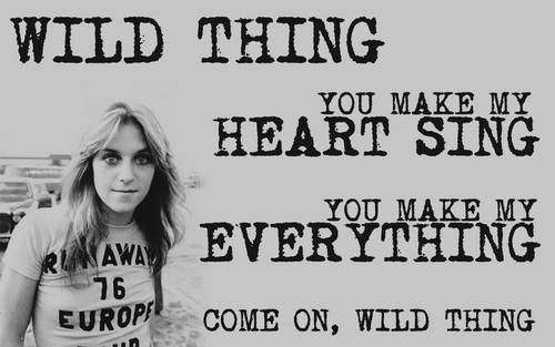 'Wild Thing'