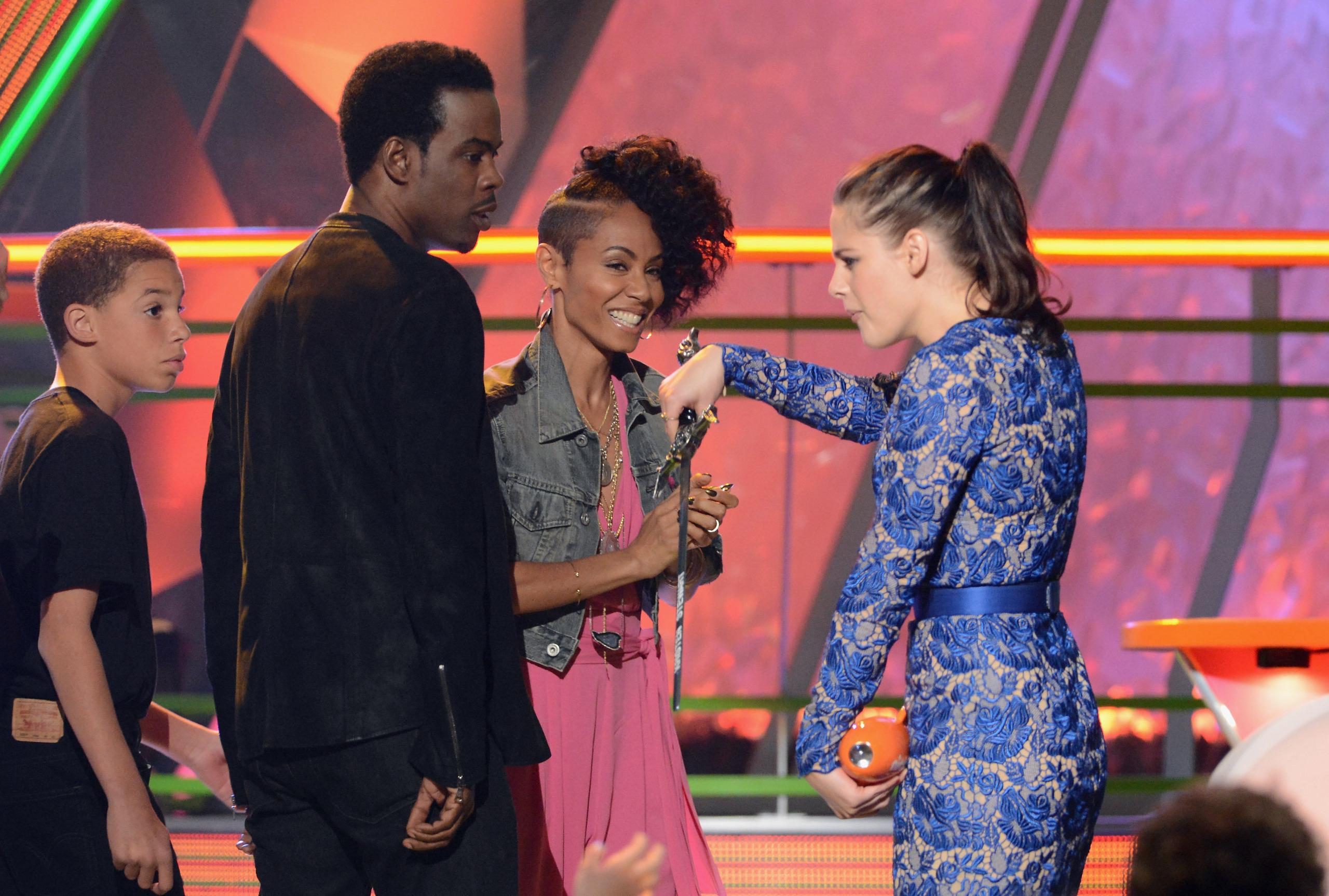 2012 Kids Choice Awards Kristen