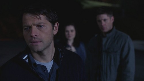 7x17 - The Born-Again Identity - dean-and-castiel Screencap
