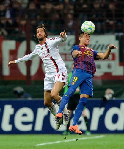 AC Milan (0) v FC Barcelona (0) - UEFA Champions League Quarter Final
