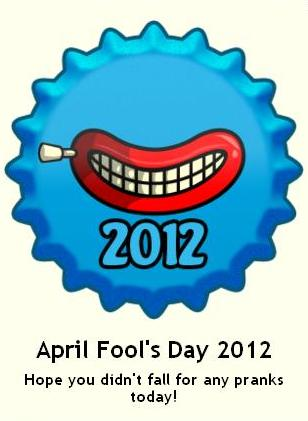 April Fool's hari 2012 topi