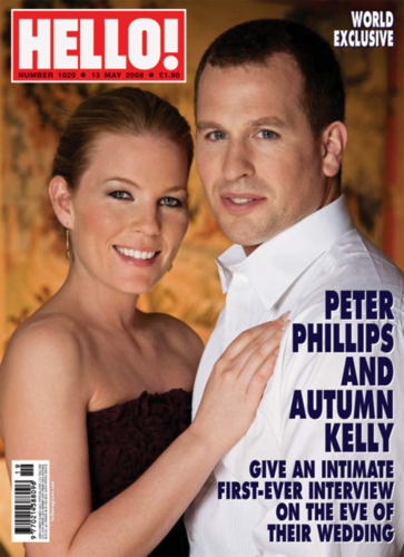 Autumn and Peter Phillips