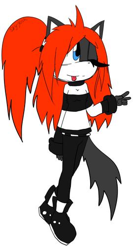 Avery The hedgewolf .:SCENE QUEEN:.