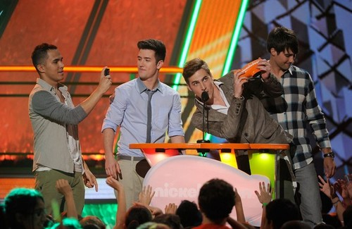 BTR at the Kids' Choice Awards 2012 Award Ceremony