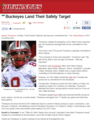 BUCKNUTS, BUCKEYES LAND SAFETY JAYME THOMPSON #7 COMMIT 2013 - ohio-state-football screencap