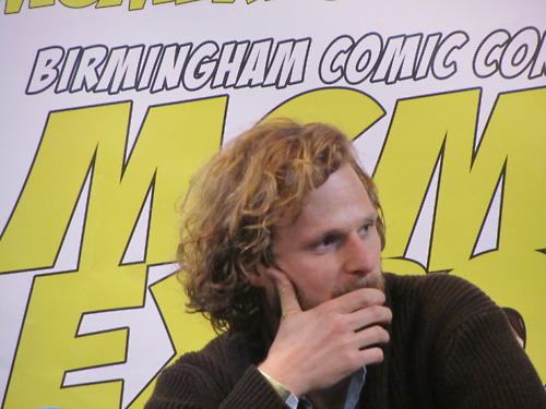 The Merlin cast Hintergrund possibly containing Anime entitled Birmingham Expo