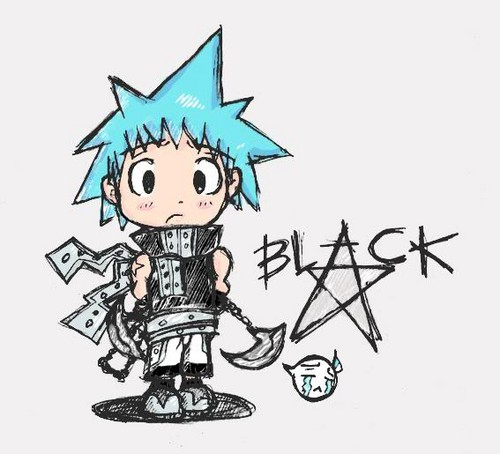 Black ★ stella, star