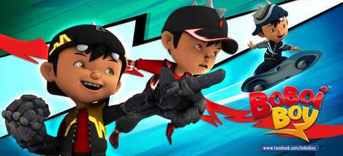 Boboiboy achtergrond possibly with anime titled Boboiboy