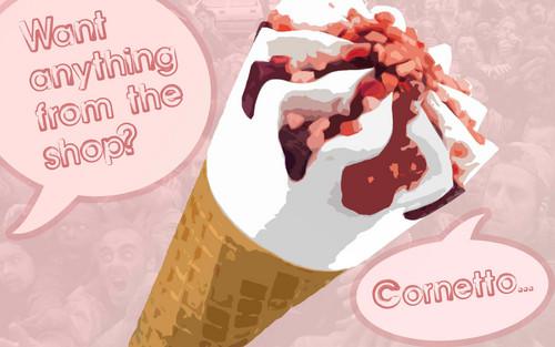 Ice Cream wallpaper called CORNETTO