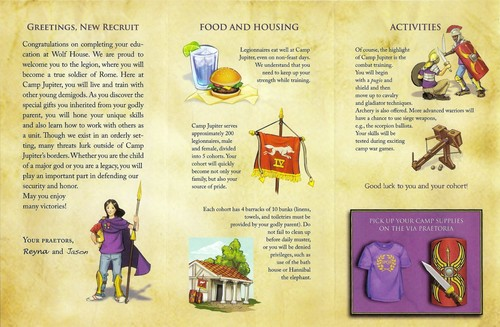 Camp Jupiter Brochure Flip-side