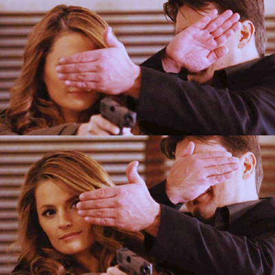 Caskett kertas dinding with a kerang, conch titled Caskett <3