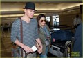 Channing Tatum &amp; Jenna Dewan: LAX Sweethearts - channing-tatum-and-jenna-dewan photo