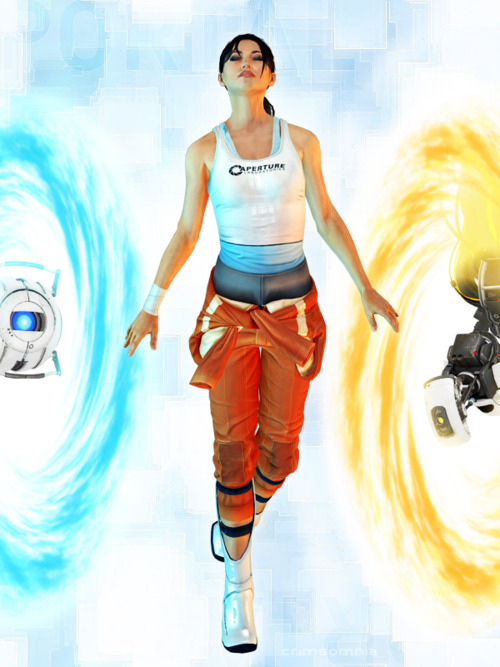 Portal 2 Images Chell Wallpaper And Background Photos