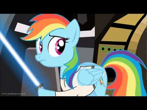 Dashie is a Jedi