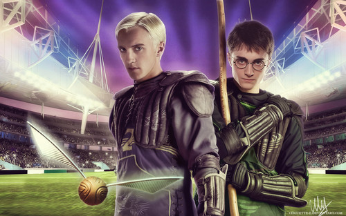 Drarry art por chouette-e