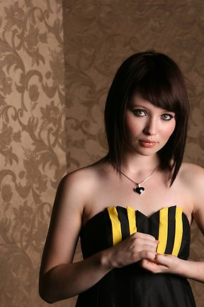 Emily Browning kertas dinding probably containing a bikini called Emily <3