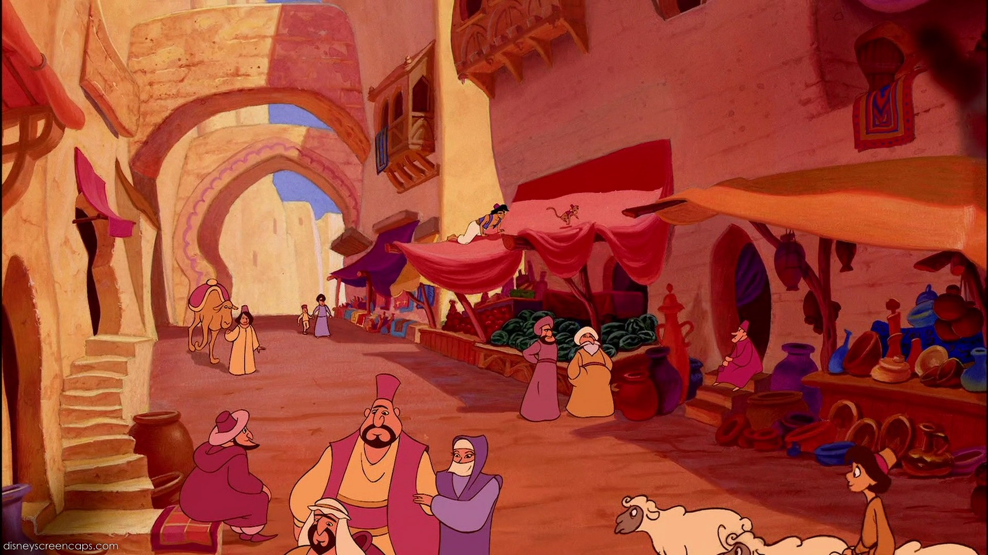 Disney Crossover Images Empty Backdrop From Aladdin HD Wallpaper And Background Photos